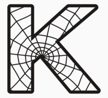 Spiderman K letter Kids Tee