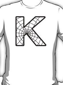 Spiderman K letter T-Shirt