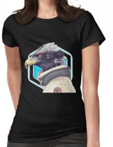 ~ Star Falco ~ Womens Fitted T-Shirt