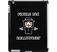 Pixels are Bulletproof iPad Case/Skin