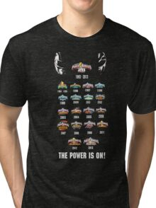 Power Rangers 20th Anniversary Tri-blend T-Shirt