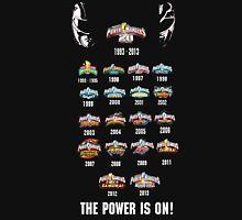 Power Rangers 20th Anniversary Unisex T-Shirt