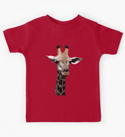 Giraffe Neck and Head Kids Tee