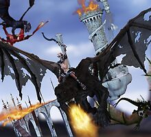 Dragon Rider by InfinityRain