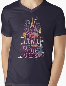 Your Only Limit Is Your Soul Mens V-Neck T-Shirt