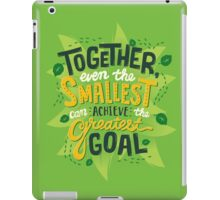 Greatest Goal iPad Case/Skin