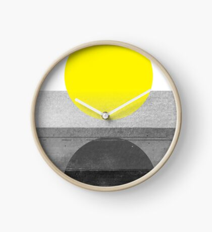 Yellow #abstract  Clock