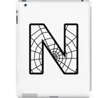Spiderman N letter iPad Case/Skin