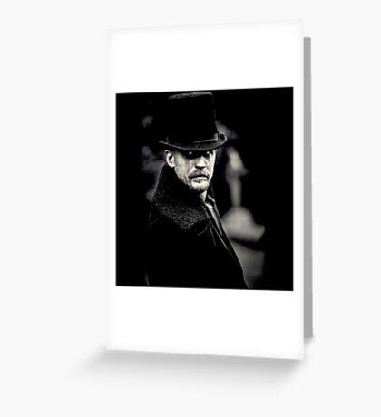Taboo Tom Hardy Greeting Card