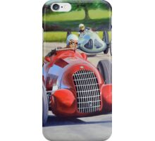 Classic Formula One, 1938 Alfa Romeo Tipo 308 (2013) iPhone Case/Skin
