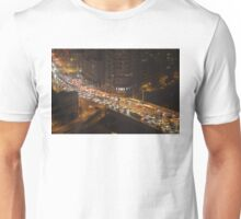 Traffic on Bridge - tilt shift Unisex T-Shirt