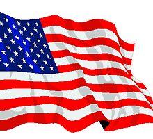 United States Flag by kwg2200