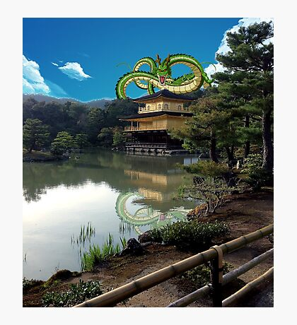 Shenron in Japan Photographic Print