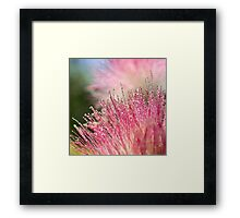 Drops and dots Framed Print