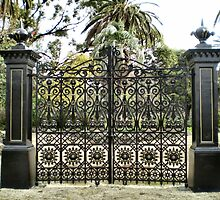 Beautiful Gates - Williamstown Botanical Gardens by EdsMum