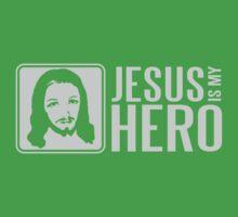 Jesus is my hero Kids Tee