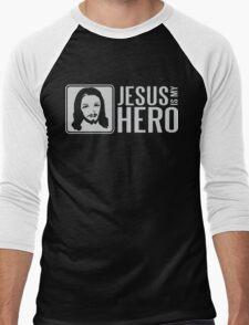 Jesus is my hero Men's Baseball ¾ T-Shirt
