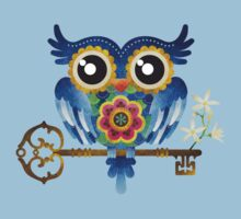 Spring Guardian Owl Kids Clothes