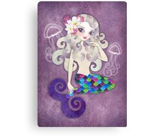 Amethyste Mermaid Canvas Print