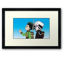 Hunter X Hunter (2011) Framed Print