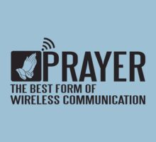 Prayer - the best form of wireless communication by nektarinchen