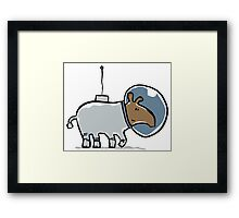 space tapir Framed Print