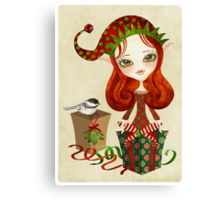 Jollybelle Elf Canvas Print