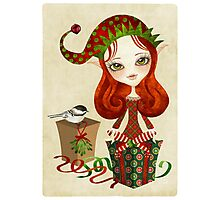 Jollybelle Elf Photographic Print