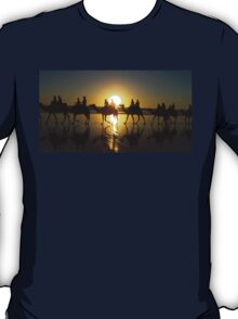 Sunset camel ride T-Shirt