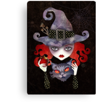Maelba, the Red Witch Canvas Print
