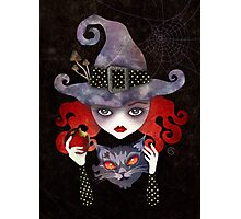 Maelba, the Red Witch Photographic Print