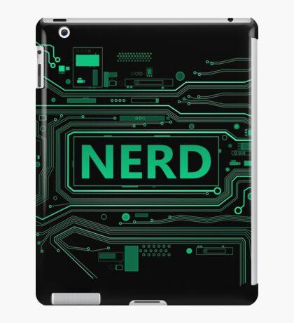 Nerd concept. iPad Case/Skin
