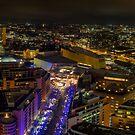 Berlin Night Skyline by mlphoto