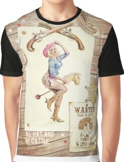 Cowgirl Graphic T-Shirt