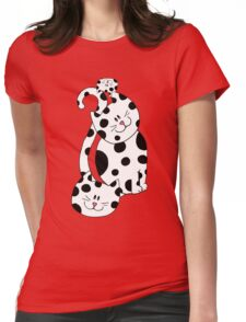 Cool Cats Womens Fitted T-Shirt