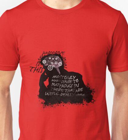 This Is My Hard-Drive, John Unisex T-Shirt