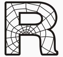 Spiderman R letter T-Shirt