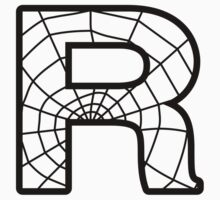 Spiderman R letter by Stock Image Folio