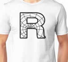 Spiderman R letter Unisex T-Shirt
