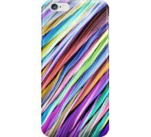 Rainbow stripes iPhone Case/Skin