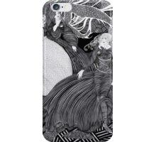 A woman walking iPhone Case/Skin