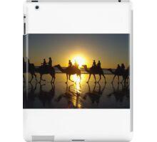 Sunset camel ride iPad Case/Skin