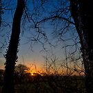 Boncath Sunset by mlphoto