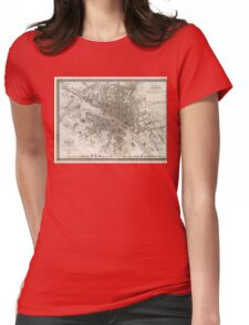 Paris 1860 Womens Fitted T-Shirt