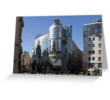 Haas House, Vienna Austria Greeting Card