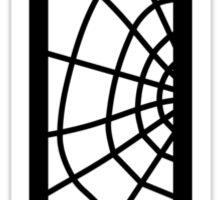 Spiderman T letter Sticker