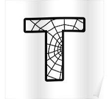 Spiderman T letter Poster