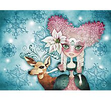 Noelle's Winter Magic Photographic Print