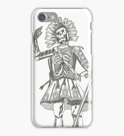Warrior Battle Armour Skull Time iPhone Case/Skin