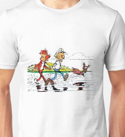 spirou fantasio Unisex T-Shirt